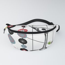 Mid-Century Modern Art Atomic Cocktail 3.0 Fanny Pack