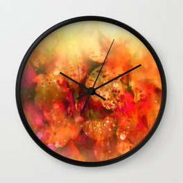 Prato di fiori Wall Clock