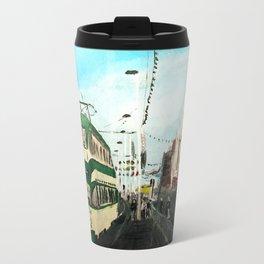 Blackpool Lancashire England Acrylic Fine Art Travel Mug