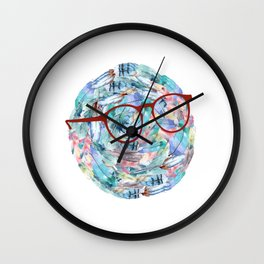 Dr. Feather Wall Clock