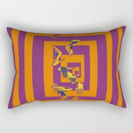 Every May's Colourful Nightmare - shoes stories Rectangular Pillow