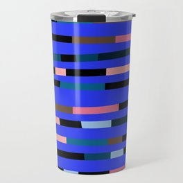 Disco stripe dorm Travel Mug