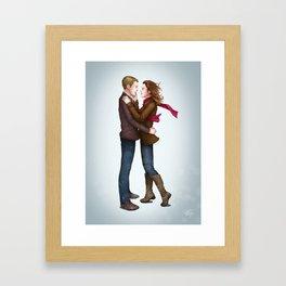 Fitzsimmons - Winter Fluff Framed Art Print
