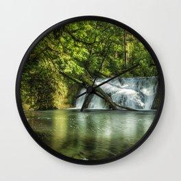 Lower North Falls Wall Clock