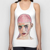 grimes Tank Tops featuring SCREWSTON GRIMES by hipporacle