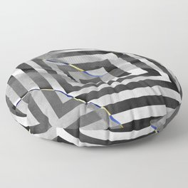 al stylish art squares design for home ornament. Floor Pillow