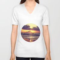 carpe V-neck T-shirts featuring Carpe Diem by Libertad Leal Photography