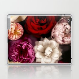 Pink, White, and Red Roses Laptop & iPad Skin