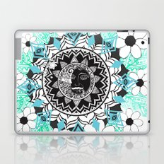 We live by the sun, We feel by the moon. Laptop & iPad Skin