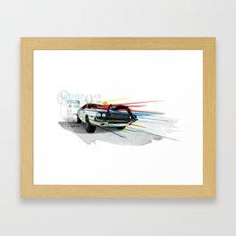 Live Fast! Framed Art Print