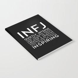 INFJ (black version) Notebook