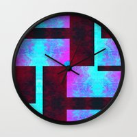 discount Wall Clocks featuring Sybaritic II by Aaron Carberry
