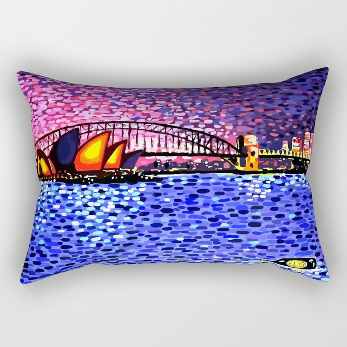 Sydney Harbour Rectangular Pillow
