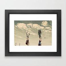 Sky Walkers Framed Art Print