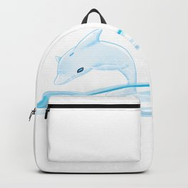 Happy Dolphin Backpack
