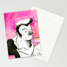 SMOKER THREE (smoky lovers) Stationery Cards