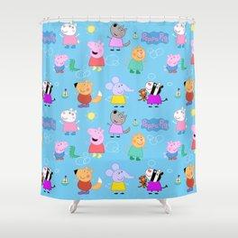 Peppa Pig Shower Curtain