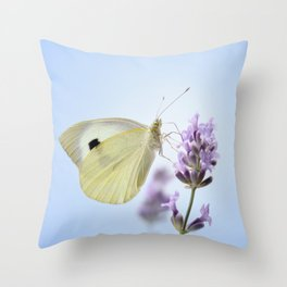 Butterfly 77 Throw Pillow