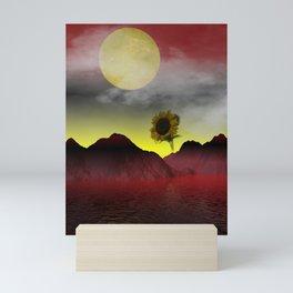 dream of a foreign summer Mini Art Print