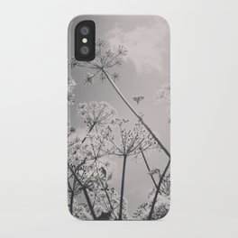 Cow Parsley iPhone Case