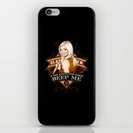 Anti vampire iPhone Skin