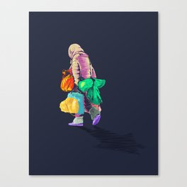 Never Arriving Canvas Print