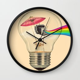 Flash back Wall Clock