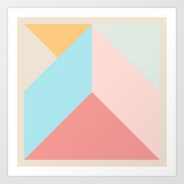 Ultra Geometric IV Art Print