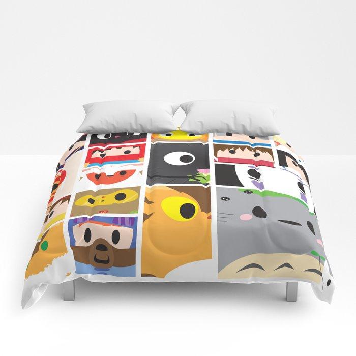 World of Ghibli Blocks Comforters