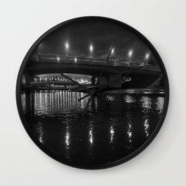 a river runs through it Wall Clock