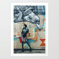 Art district  Art Print