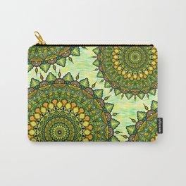 Mandala Natura Carry-All Pouch