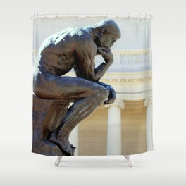 I Am, I Think... Shower Curtain