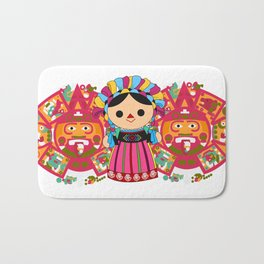 Maria 3 (Mexican Doll) Bath Mat