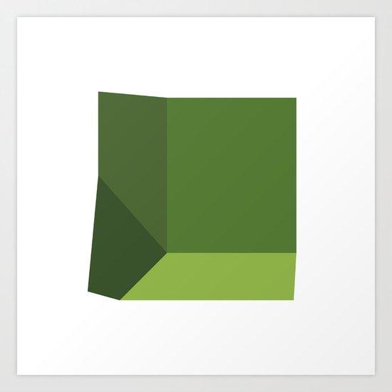 #319 Beginnings – Geometry Daily Art Print