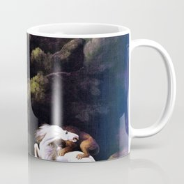 A Lion Attacking A Horse - George Stubbs Coffee Mug