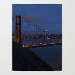 Golden Gate Bridge Long Exposure Poster