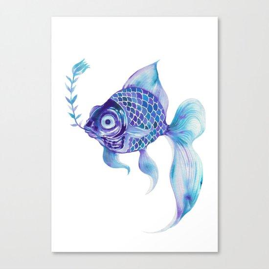 Baby Blue #5 Canvas Print