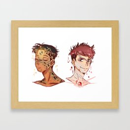 JeanMarco Gem Au Framed Art Print