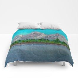 Mountain Lake Comforters