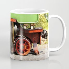 a historic steam locomotive Coffee Mug
