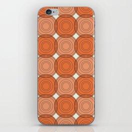 Red & Orange Circles iPhone Skin