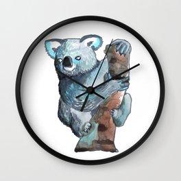 the koala awesome Wall Clock