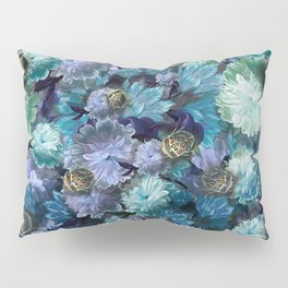 """""""Baroque floral with bugs"""" Pillow Sham"""