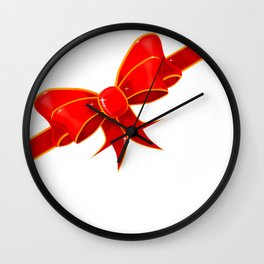Parcel Bow Wall Clock