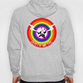 Death Metal Panda Hoody