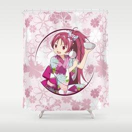 Kyoko Sakura - Yukata edit. (rev. 1) Shower Curtain
