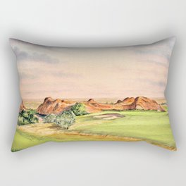 Arrowhead Golf Course Colorado Rectangular Pillow