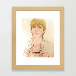 Brotherhood Iggy Framed Art Print