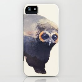 Owlbear in Mountains iPhone Case